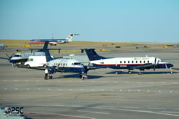 N219GL Beech 1900D UE-219 Great Lakes Airlines @ Denver Airport 25.09.2014 © Piti Spotter Club Verona