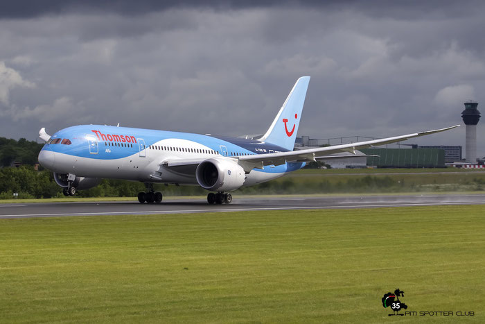 G-TUIB B787-8 34423/94 Thomson Airways @ Manchester Airport 21.06.2015 © Piti Spotter Club Verona