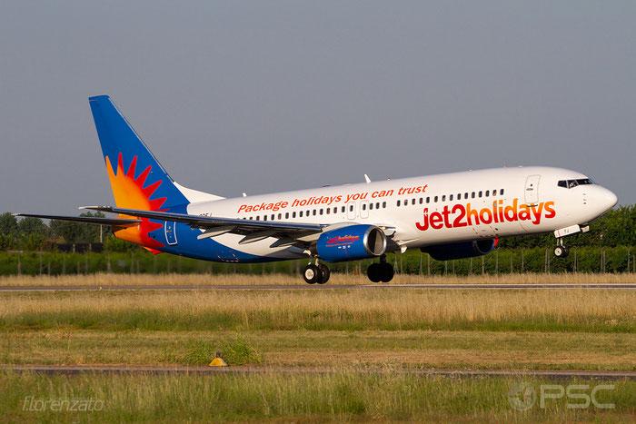 G-GDFJ B737-804 28229/478 Jet2 @ Aeroporto di Verona 30.06.2018  © Piti Spotter Club Verona