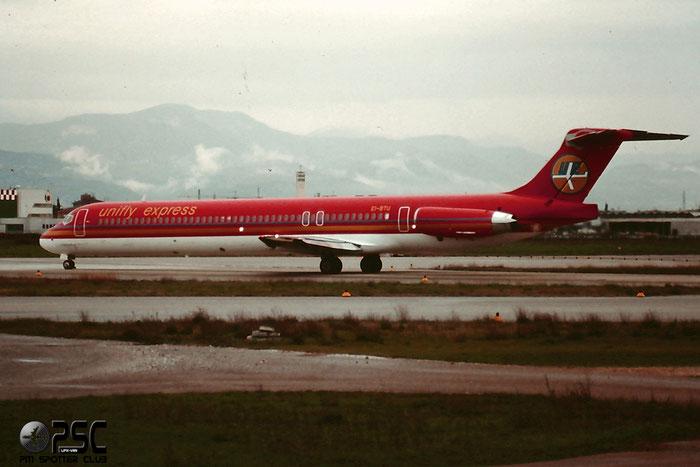 EI-BTU  MD-83  49619/1483  Unifly Express  @ Aeroporto di Verona © Piti Spotter Club Verona