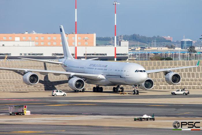 I-TALY  A340-541  748  Aeronautica Militare Italiana - Italian Air Force @ Roma Fiumicino 2016 © Piti Spotter Club Verona