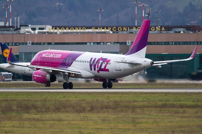 HA-LYI A320-232 6352 Wizz Air @ Bologna Airport 18.02.2016 © Piti Spotter Club Verona