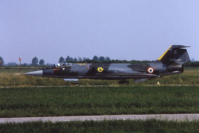 Gli F-104 del Terzo Stormo: 3-40 -  @ Aeroporto di Verona   © Piti Spotter Club Verona