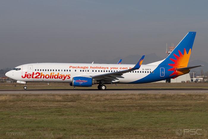 G-GDFZ B737-86Q 30276/920 Jet2 @ Aeroporto di Verona 20.01.2018  © Piti Spotter Club Verona