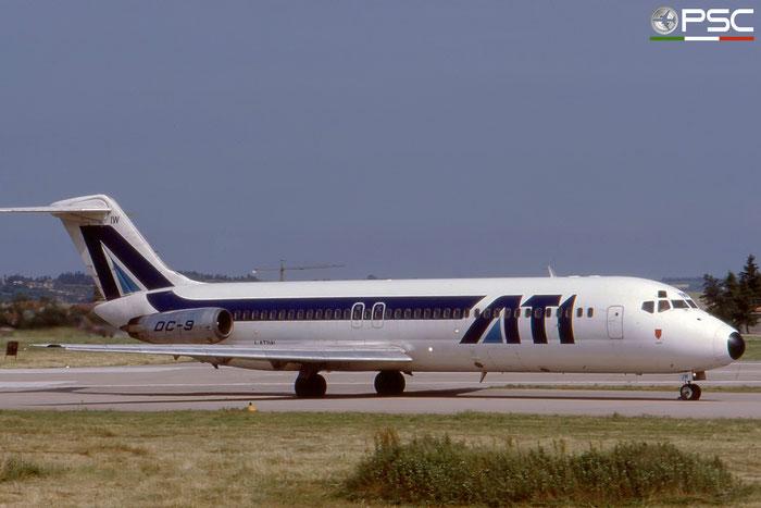 I-ATIW DC-9-32 47533/641 ATI - Aero Transporti Italiani © 2018 courtesy of Marco Ceschi - Piti Spotter Club Verona