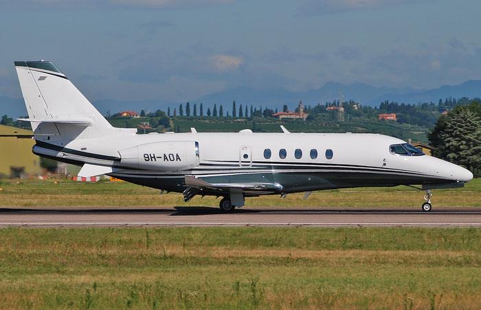 9H-AOA Ce680A 680A-0070 Albinati Aviation @ Aeroporto di Verona 23.07.2018  © Piti Spotter Club Verona