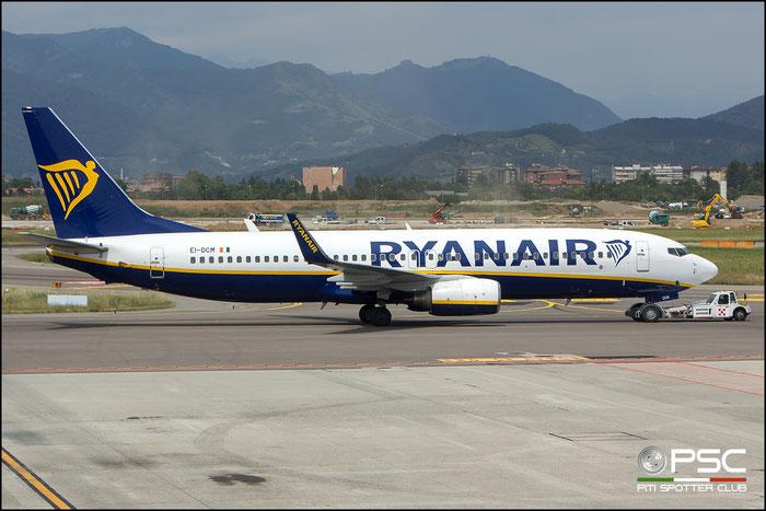 EI-DCM B737-8AS 33807/1578 Ryanair @ Bergamo 08.2018 © Piti Spotter Club Verona