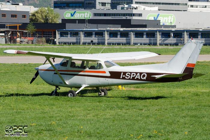 I-SPAQ Reims Aviation F172N Skyhawk C172 1647 @ Aeroporto di Bolzano © Piti Spotter Club Verona