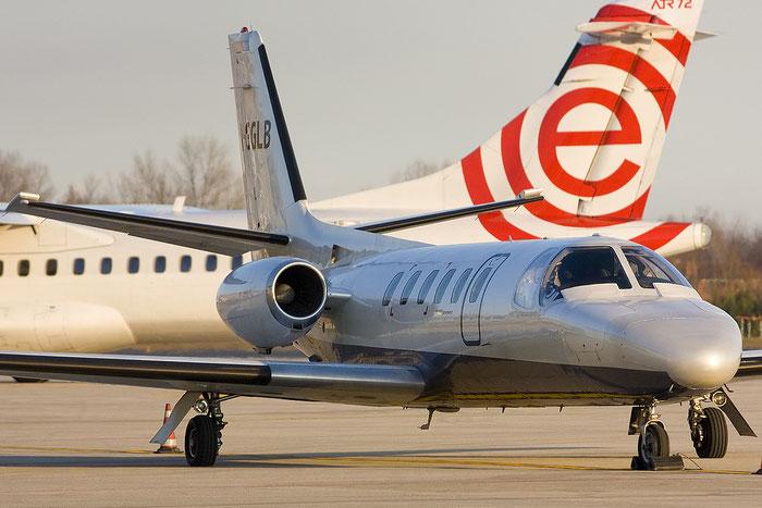 I-GGLB Ce550 550-0393/291 Unifly @ Treviso Airport1 14.01.2012 © Piti Spotter Club Verona