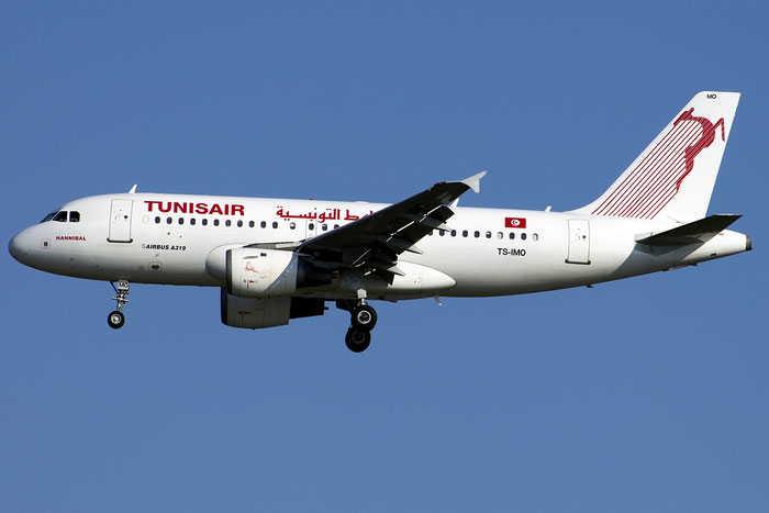 TS-IMO A319-114 1479 Tunisair @ Venezia Airport 14.08.2014 © Piti Spotter Club Verona
