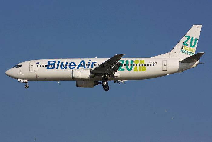 YR-BAE B737-46N 28723/2886 Blue Air @ Venezia Airport 16.06.2012 © Piti Spotter Club Verona