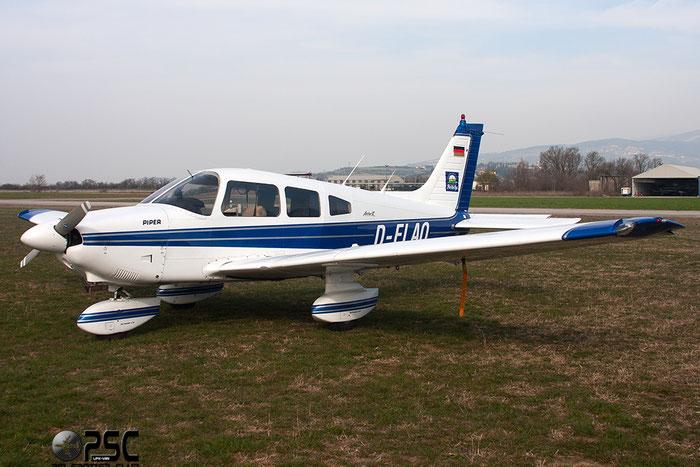 D-ELAQ Piper PA-28-181 Cherokee Archer 2 P28A 28-7890432 @ Aeroporto Verona Boscomantico © Piti Spotter Club Verona