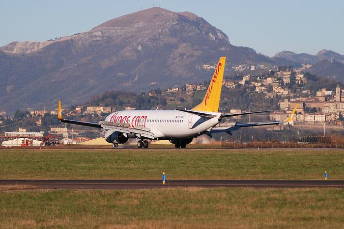 TC-ARP B737-82R 40727/3652 Pegasus Airlines @ Bergamo Airport 05.01.2015 © Piti Spotter Club Verona