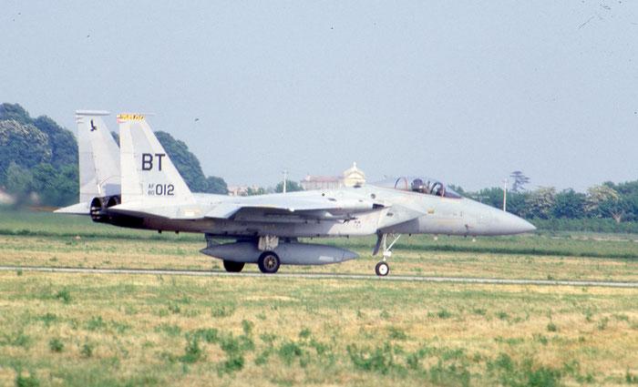 80-0012  ZZ  F-15C-27-MC  649/C161 @ Aeroporto di Verona   © Piti Spotter Club Verona