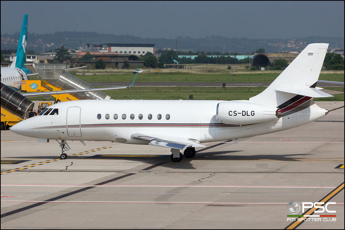 CS-DLG Falcon 2000EX-EASy 144 NetJets Europe @ Aeroporto di Verona 27.05.2018  © Piti Spotter Club Verona