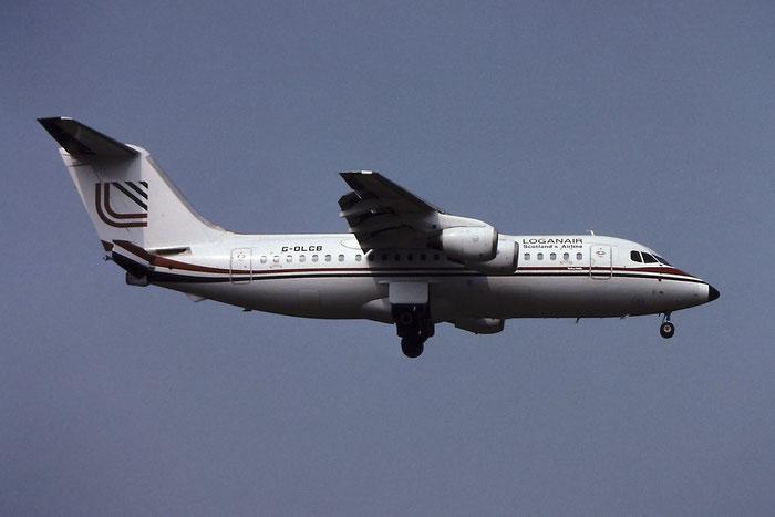 G-OLCB  BAe146-200  E2103  Loganair  @ Aeroporto di Verona © Piti Spotter Club Verona