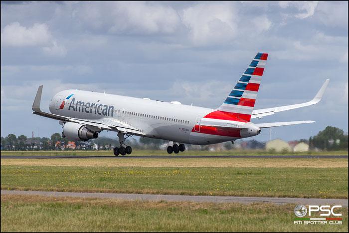 N350AN  B767-323ER  33089/916  American Airlines  @ Amsterdam 2019 © Piti Spotter Club Verona