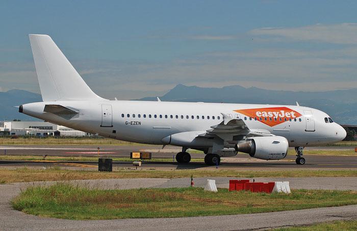 G-EZEN A319-111 2245 easyJet @ Aeroporto di Verona 07.2018  © Piti Spotter Club Verona