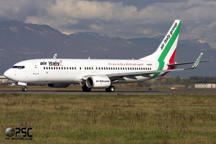 I-AIGN  B737-84P  35074/2217  Air Italy (2005)  @ Aeroporto di Verona © Piti Spotter Club Verona