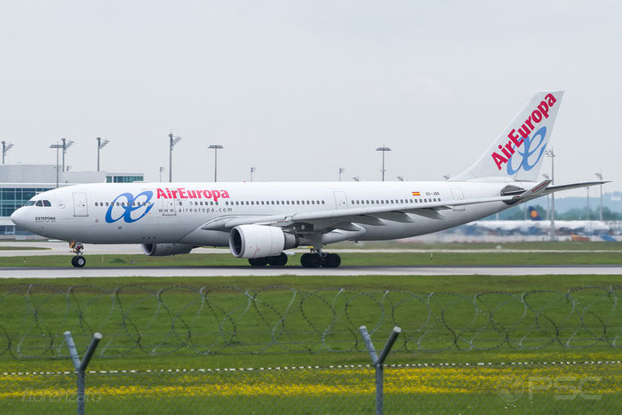 EC-JQG A330-202 745 Air Europa @ Munich Airport 15.05.2016 © Piti Spotter Club Verona
