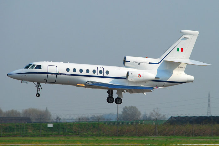 MM62029 - Italy - Air Force - Dassault Falcon 50 - MM62029 @ Aeroporto di Verona © Piti Spotter Club Verona