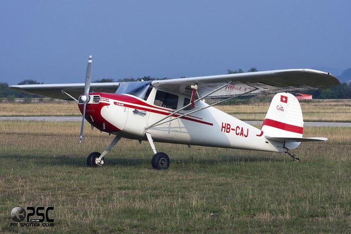 HB-CAJ Cessna 140 C140 13250 @ Aeroporto Verona Boscomantico © Piti Spotter Club Verona