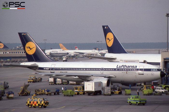 D-AICB A310-203 201 Lufthansa © 2018 courtesy of Marco Ceschi - Piti Spotter Club Verona