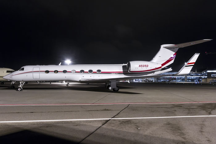 N505D G550 5323 Dow Chemical Co. @ Zurich Airport 21.01.2015 © Piti Spotter Club Verona