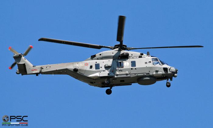 MM81607  3-32  SH-90A  ..../HITN31  GRUPELICOT 4 @ Aeroporto di Verona   © Piti Spotter Club Verona