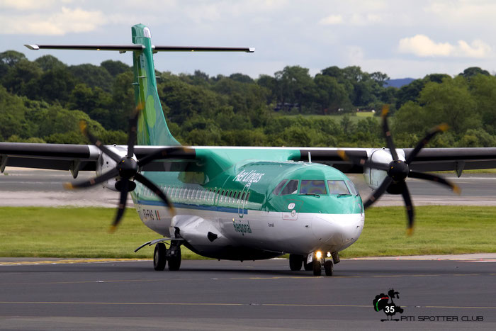 EI-FAS ATR72-212A 1083 Stobart Air opf Aer Lingus Regional @ Manchester Airport 21.06.2015 © Piti Spotter Club Verona