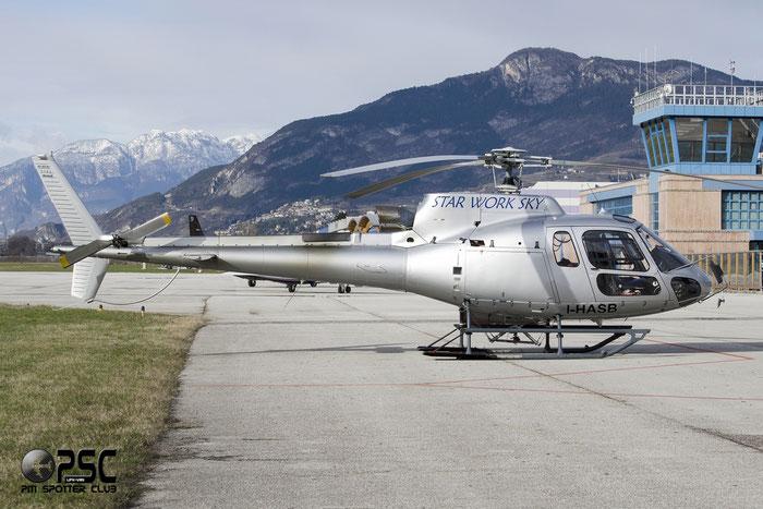 I-HASB - Eurocopter AS 350B3 Ecureuil - Star Work Sky @ Aeroporto di Trento © Piti Spotter Club Verona