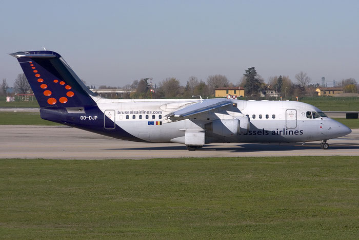 OO-DJP BAe146-RJ85 E2287 Brussels Airlines @ Bologna 03.12.2013 © Piti Spotter Club Verona