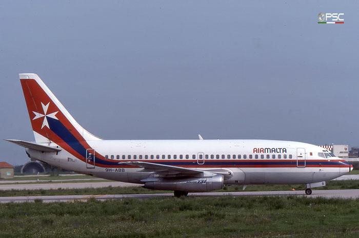 9H-ABB  B737-2Y5  23039/954  Air Malta @ Aeroporto di Verona © Piti Spotter Club Verona