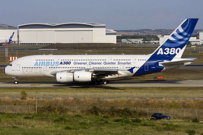 F-WWOW A380-841 1 Airbus Industrie @ Toulouse Airport 10.2008 © Piti Spotter Club Verona