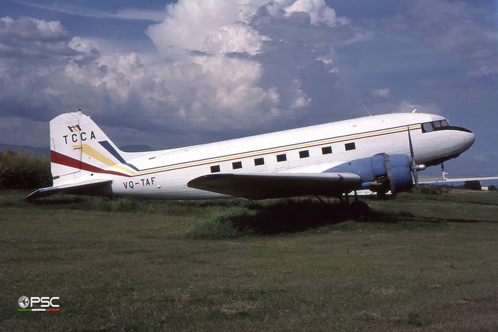 VQ-TAF TCNA Douglas DC- 3 © 2018 courtesy of Marco Ceschi - Piti Spotter Club Verona