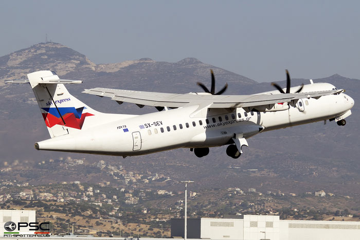 SX-SEV  ATR72-212A  699  Sky Express  @ Athens 2019 © Piti Spotter Club Verona