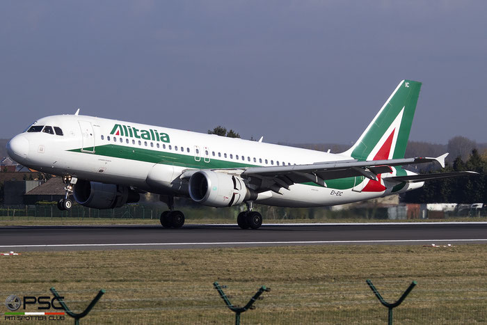 EI-EIC A320-216 4520 Alitalia @ Bruxelles Airport 14.03.2018 © Piti Spotter Club Verona