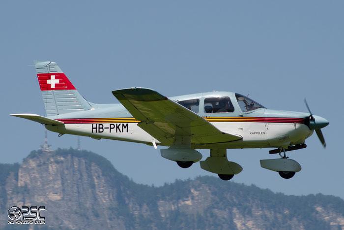 HB-PKM Piper PA-28-181 Archer 2 P28A 2890026 Fluggruppe Seeland @ Aeroporto di Bolzano © Piti Spotter Club Verona