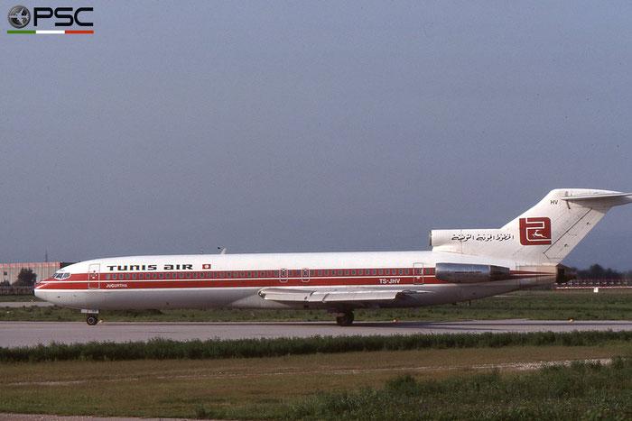 TS-JHV  B727-2H3  21319/1269  Tunisair @ Aeroporto di Verona © Piti Spotter Club Verona
