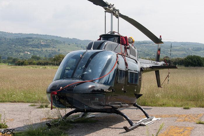 HB-ZPZ - Agusta / Agusta-Bell AB 206A & B @ Aeroporto Verona Boscomantico © Piti Spotter Club Verona