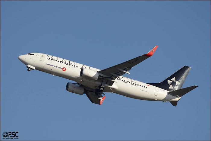 TC-JFI B737-8F2 29771/228 Turkish Airlines - THY Türk Hava Yollari @ Milano Malpensa Airport 25.01.2014 © Piti Spotter Club Verona