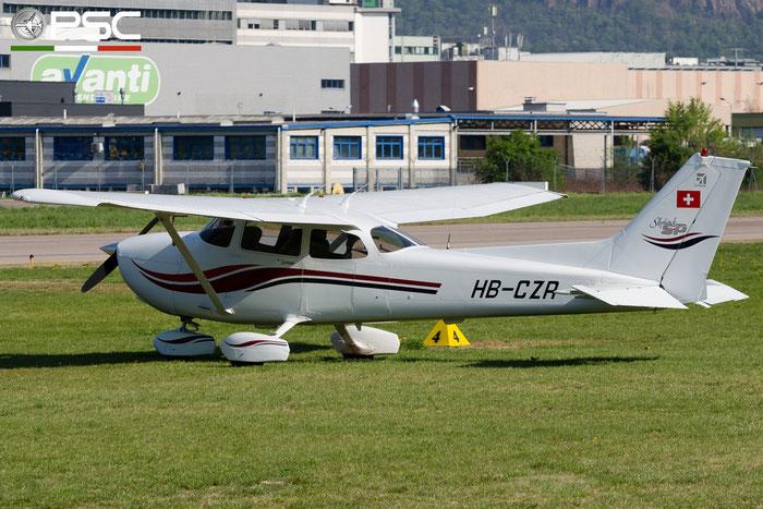 HB-CZR Private Cessna 172S Skyhawk SP @ Aeroporto di Bolzano © Piti Spotter Club Verona
