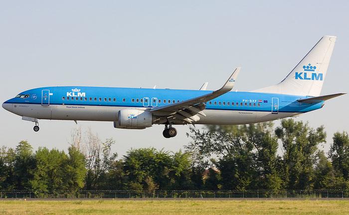 PH-BXF B737-8K2 29596/583 KLM Royal Dutch Airlines @ Treviso Airport - 20.08.2012  © Piti Spotter Club Verona