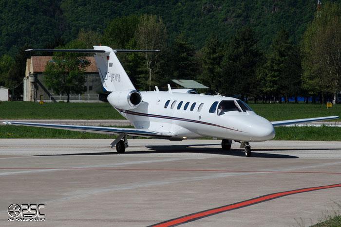 D-IPVD Ce525A 525A-0218 Gil-Air @ Aeroporto di Bolzano © Piti Spotter Club Verona