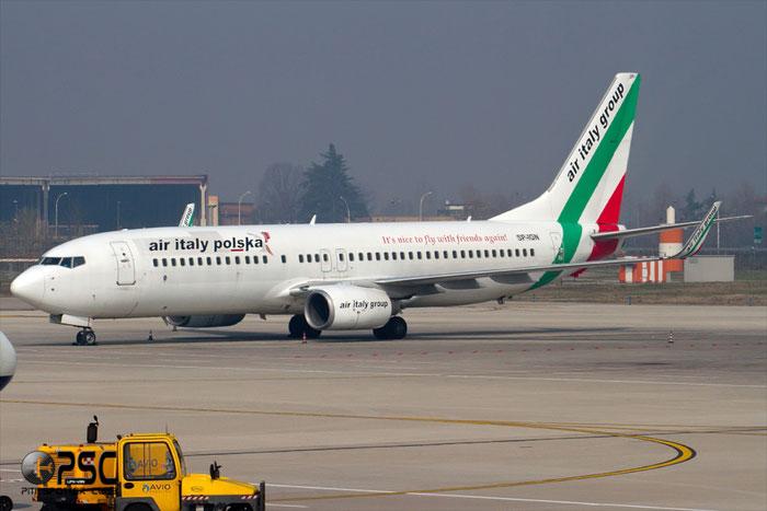 SP-IGN  B737-84P  35074/2217  Air Italy Polska  @ Aeroporto di Verona © Piti Spotter Club Verona