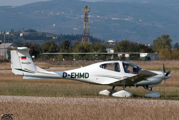 D-EHMD Diamond Aircraft Industries DA-40 Diamond Star DA40 40.008 @ Aeroporto Verona Boscomantico © Piti Spotter Club Verona