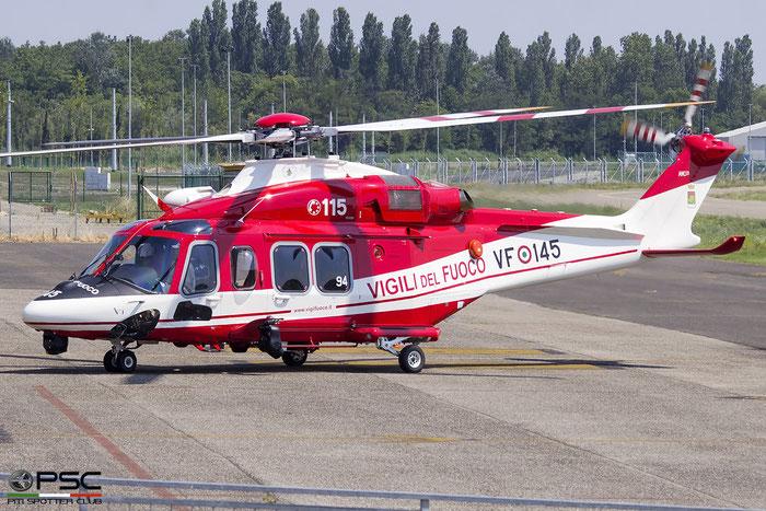 I-EASZ  VF-145  AW139  31894 © Piti Spotter Club Verona