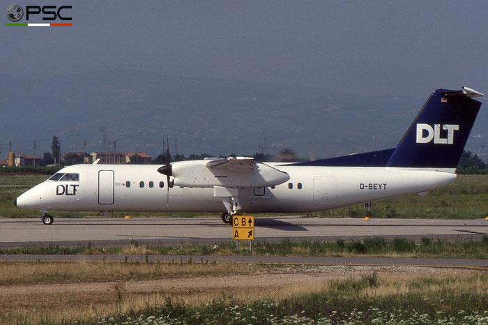 D-BEYT DHC-8-311 236 DLT - Deutsche Luftverkehrsgesellschaft © 2018 courtesy of Marco Ceschi - Piti Spotter Club Verona