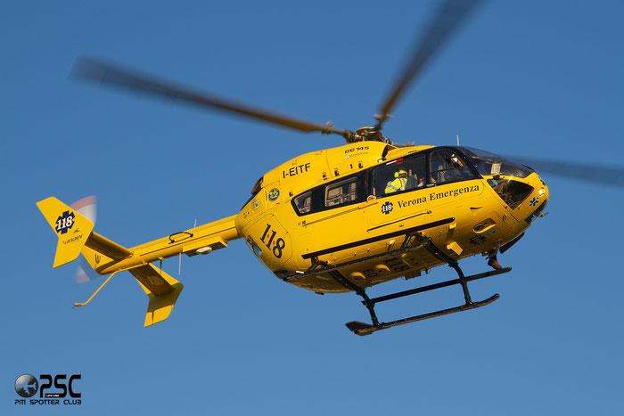 Inaer Eurocopter EC 145 - I-EITF @ Aeroporto di Verona © Piti Spotter Club Verona