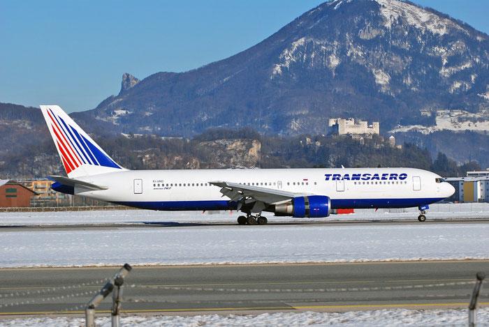 EI-UND B767-3P6ER 26236/436 Transaero Airlines @ Salzburg Airport 2011 © Piti Spotter Club Verona